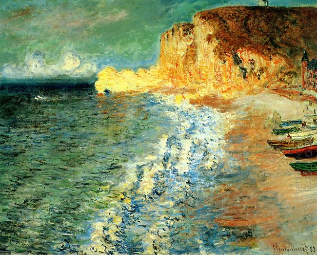 Morning At Etretat 1883