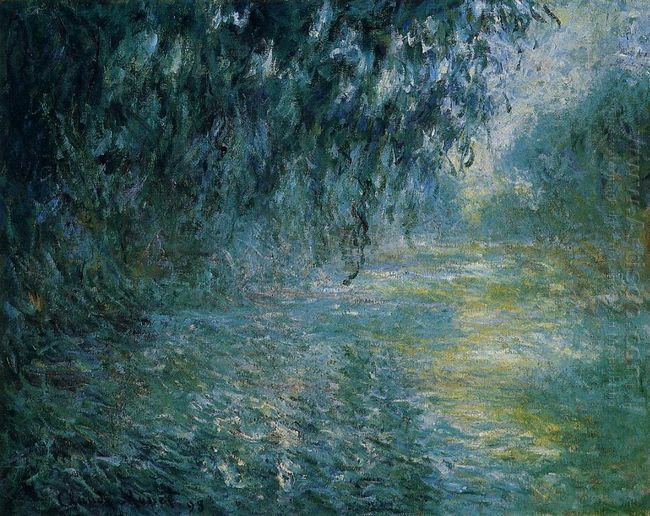 Morning On The Seine In The Rain 1898