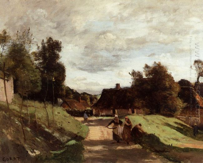 Near The Mill Chierry Aisne 1860