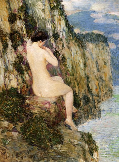 Nude On The Cliffs