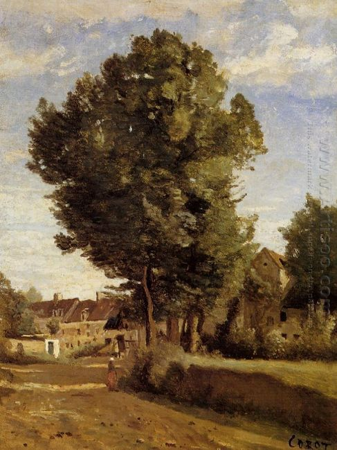 Outskirts Of A Village Near Beauvais