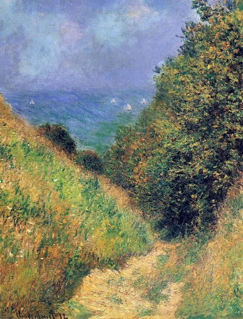 Path At Pourville 02