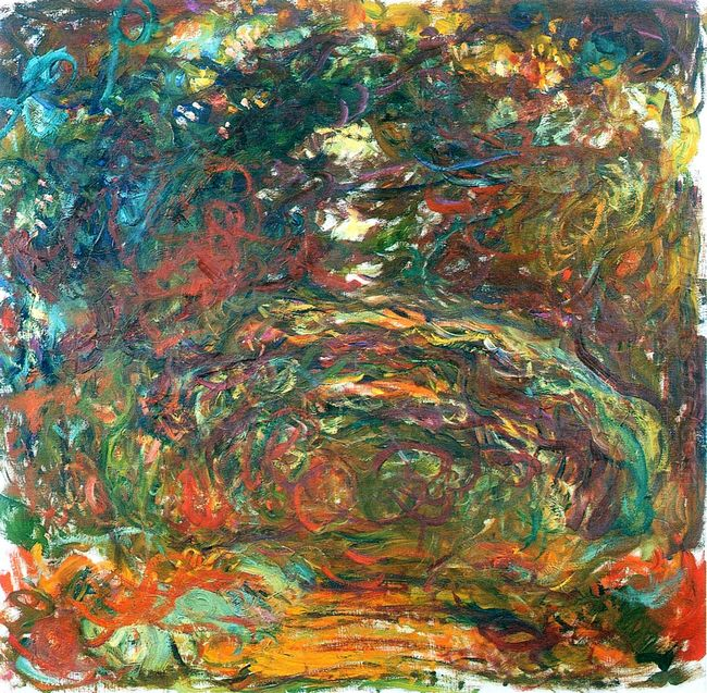 Path Under The Rose Arches Giverny 1922
