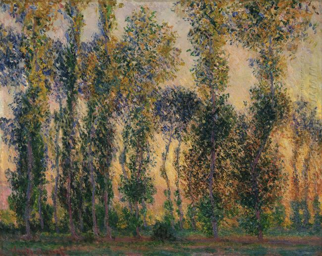 Poplars At Giverny 1
