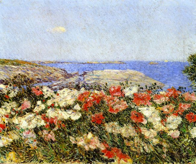 Poppies On The Isles Of Shoals 1890
