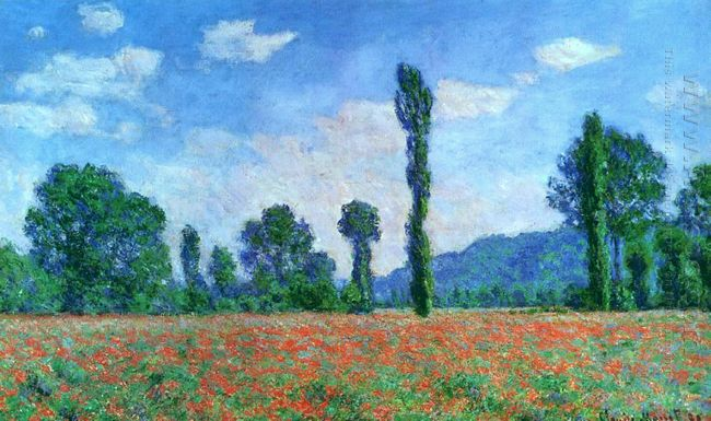 Poppy Field In Giverny