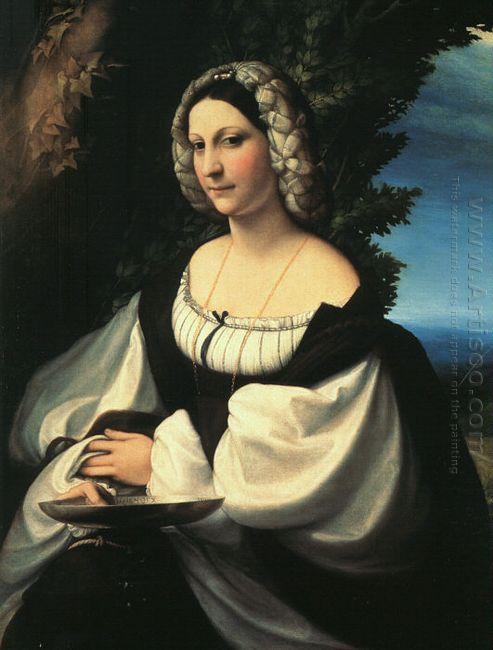Portrait Of A Gentlewoman 1519