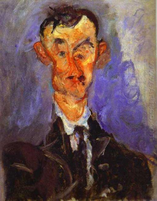 Portrait Of Emile Lejeune 1925