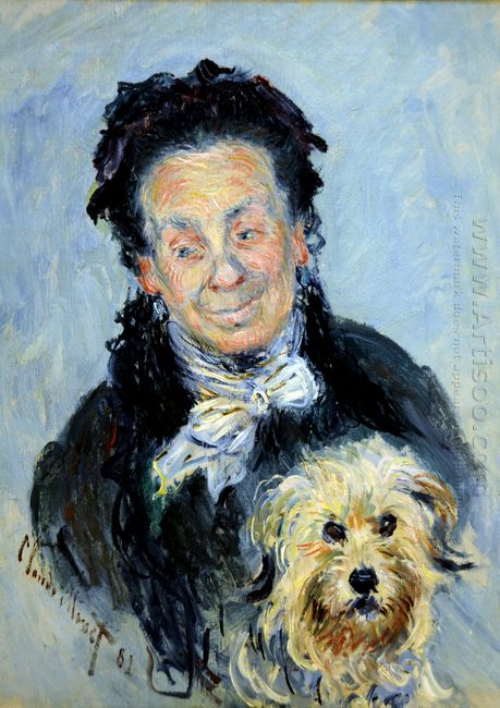 Portrait Of Eugenie Graff Madame Paul 1882