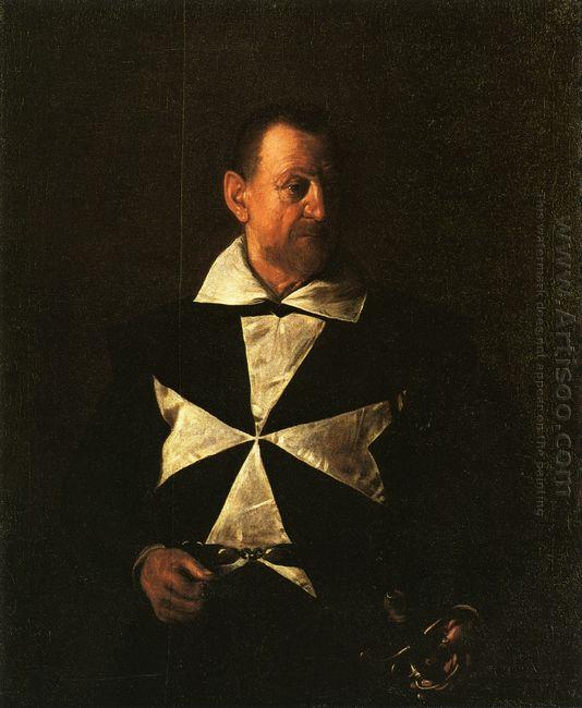 Portrait Of Fra Antionio Martelli 1608