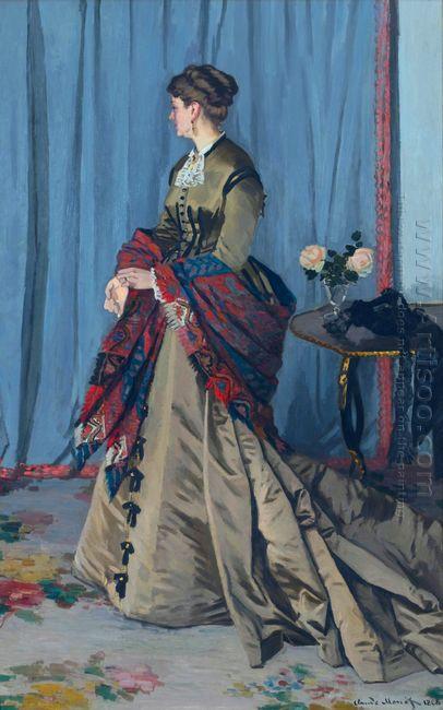 Portrait Of Madame Gaudibert