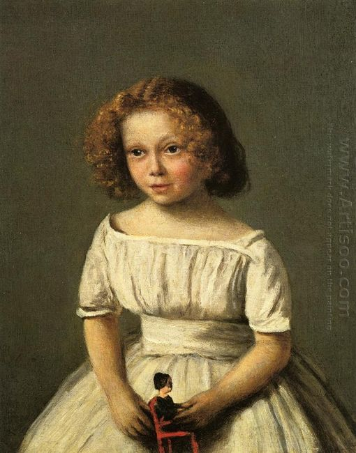 Portrait Of Madame Langeron Four Years Old 1845