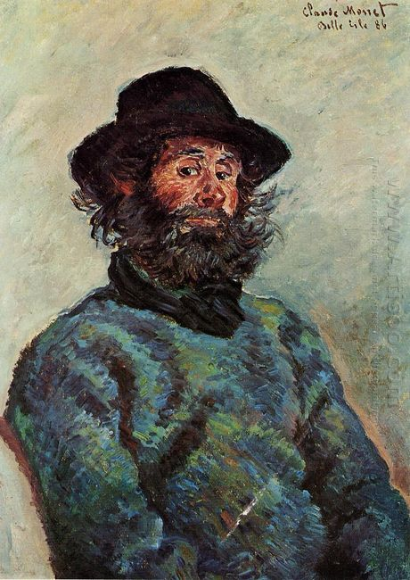 Portrait Of Poly Fisherman At Kervillaouen