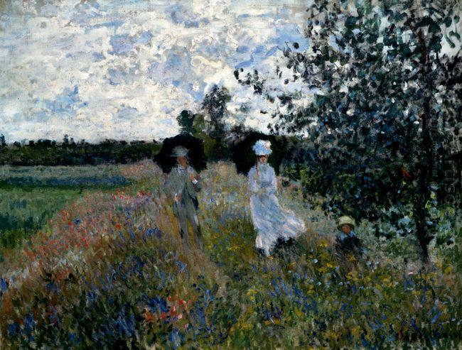 Promenade Near Argenteuil 1873