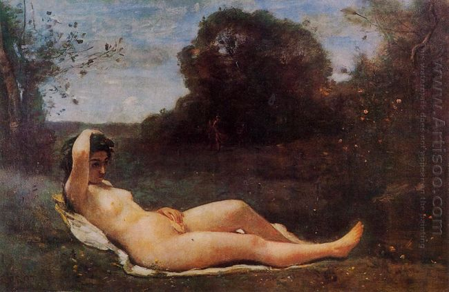 Reclining Nymph 1859