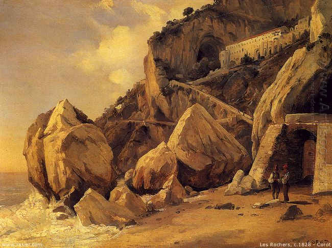 Rocks In Amalfi 1828