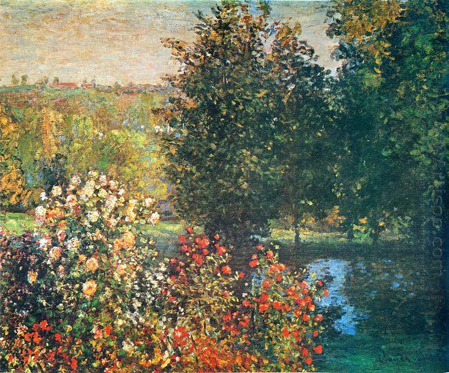 Roses In The Hoshede S Garden At Montregon
