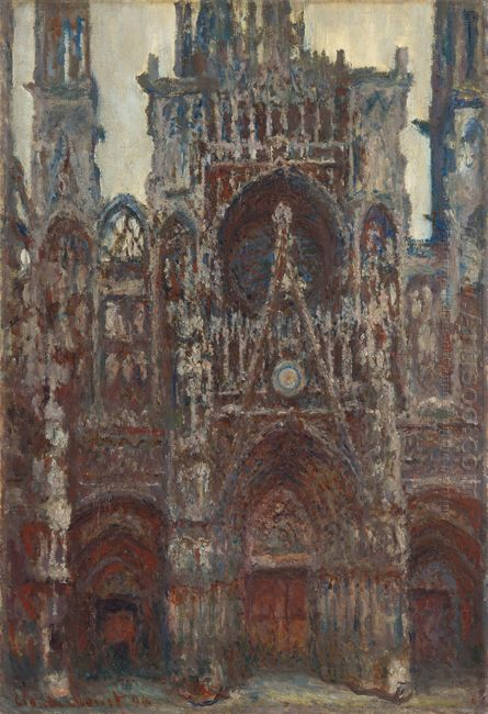 Rouen Cathedral Evening Harmony In Brown 1894