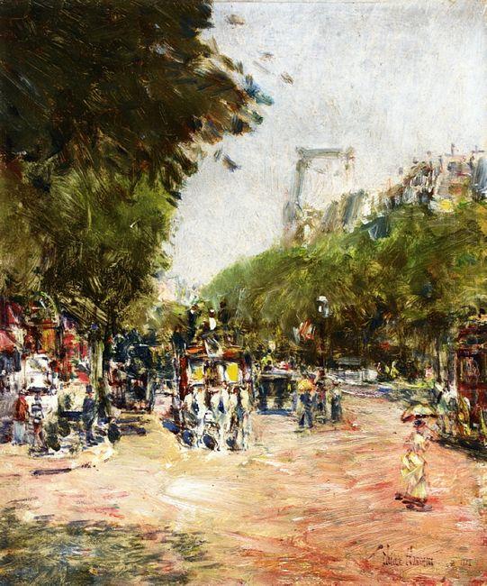 Rue Madeleine Place De L Opera