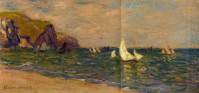 Sailboats At Sea Pourville