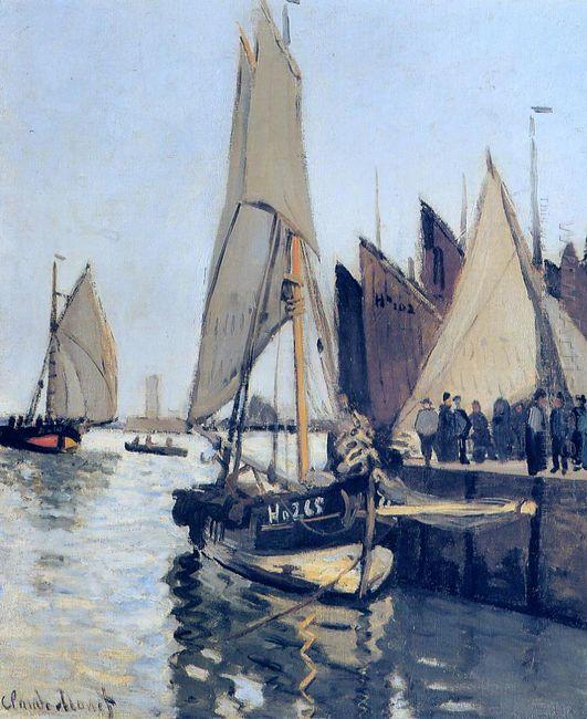 Sailing Boats At Honfleur