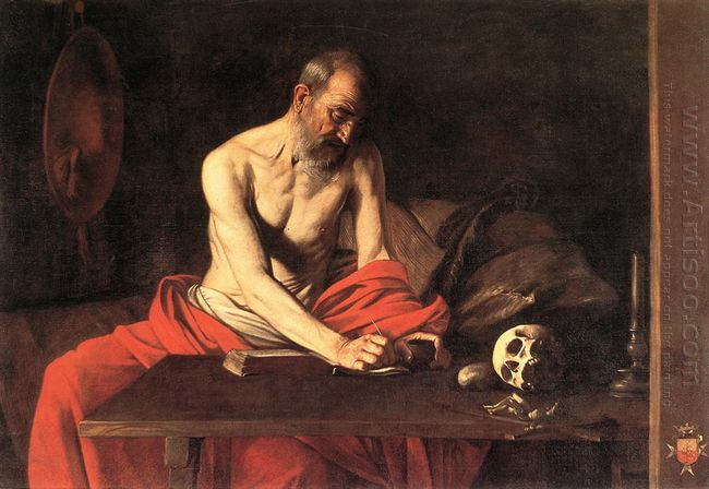 Saint Jerome Writing 1607