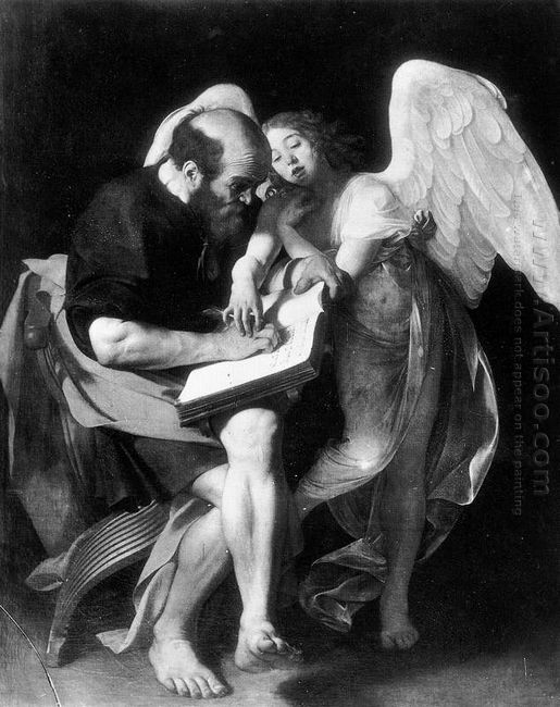 Saint Matthew And The Angel 1602