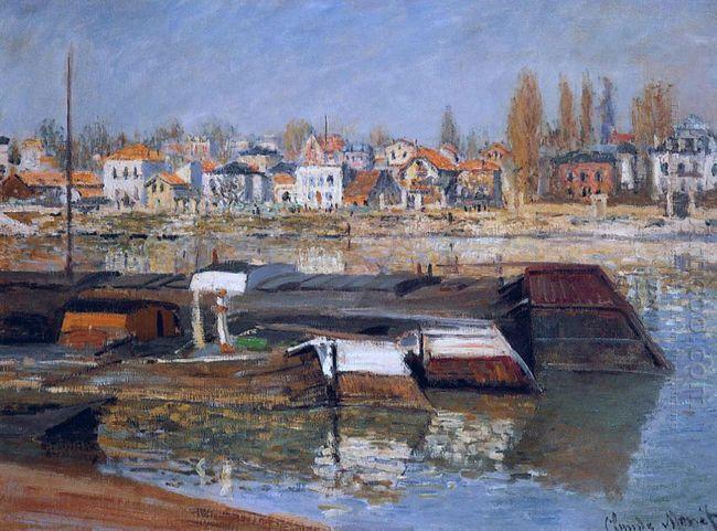 Seine At Asnieres 1873