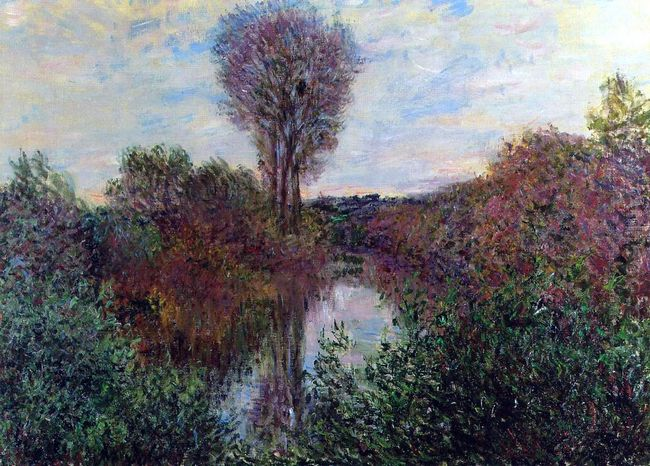 Small Branch Of The Seine 1878