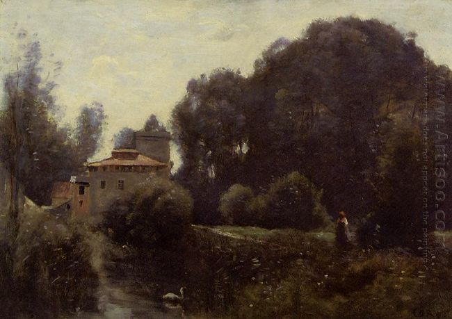 Souvenir Of The Villa Borghese 1855