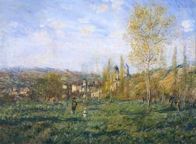 Springtime In Vetheuil