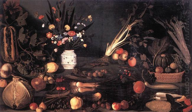 Still Life With Flowers And Fruit 1601
