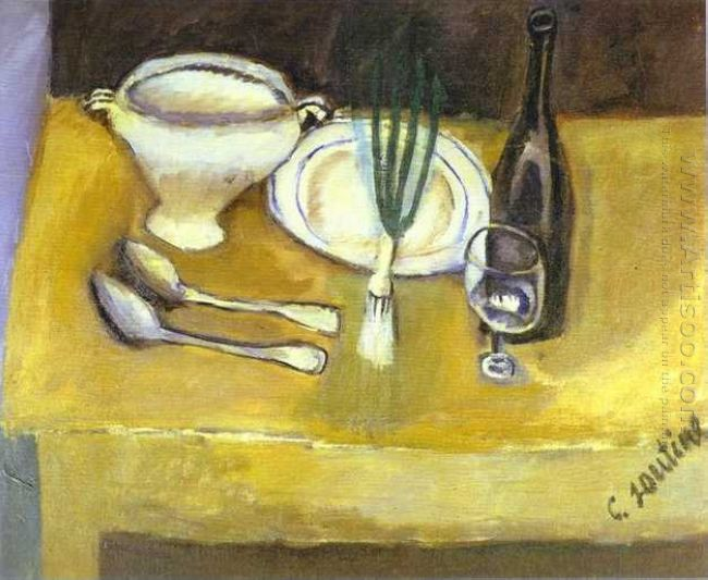 Still Life With Soupière