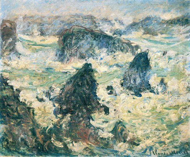 Storm On The Cote De Belle Ile