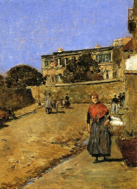 Street Scene Montmartre