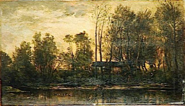 Sunset Lower Meudon 1869
