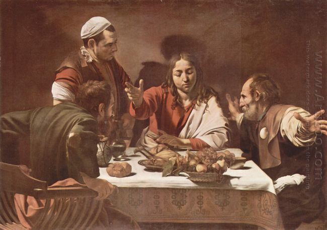 Supper At Emmaus 1602