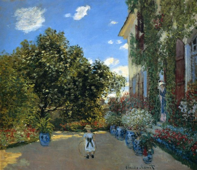 The Artist S House At Argenteuil