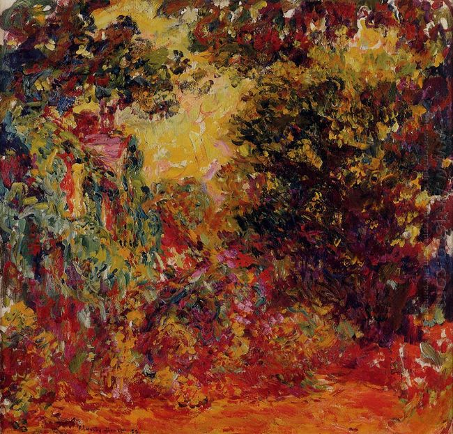 The Artist S House From The Rose Garden 1924