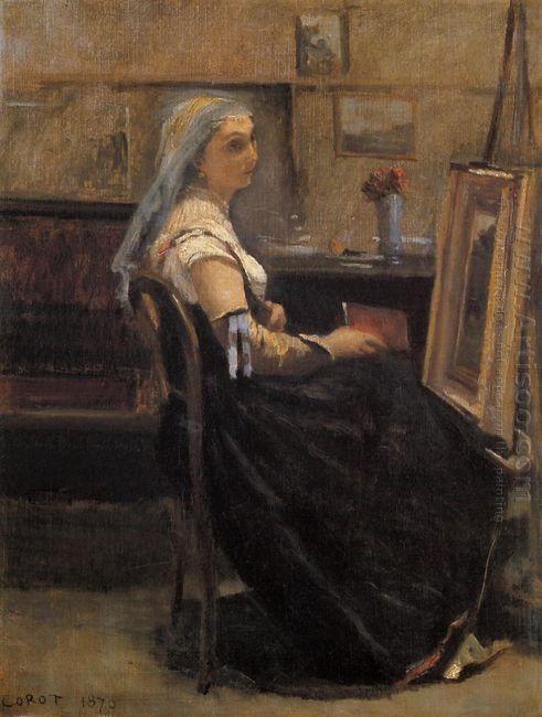 The Artist S Studio 1870