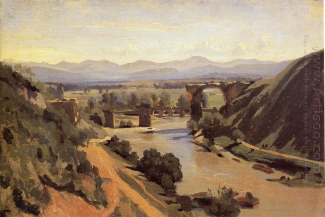 The Augustan Bridge At Narni 1826