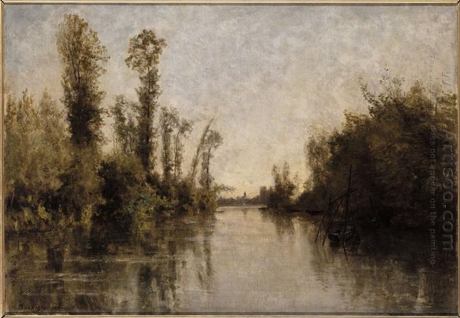 The Banks Of Seine 1851