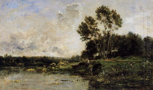 The Banks Of The Oise 1877