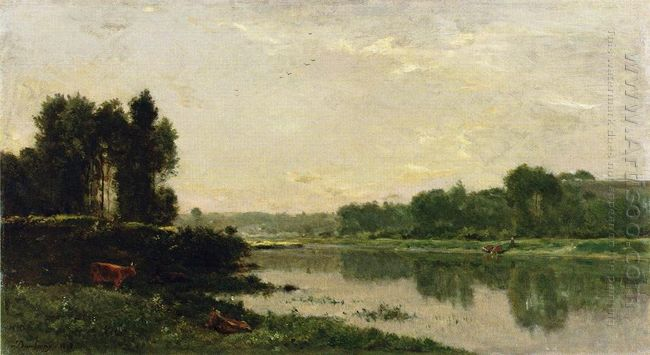 The Banks Of The River 1868