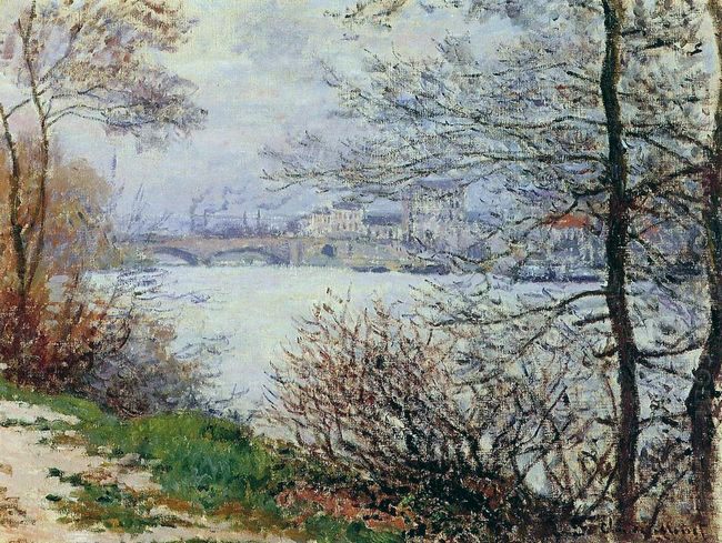 The Banks Of The Seine Ile De La Grande Jatte