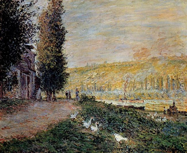 The Banks Of The Seine Lavacourt