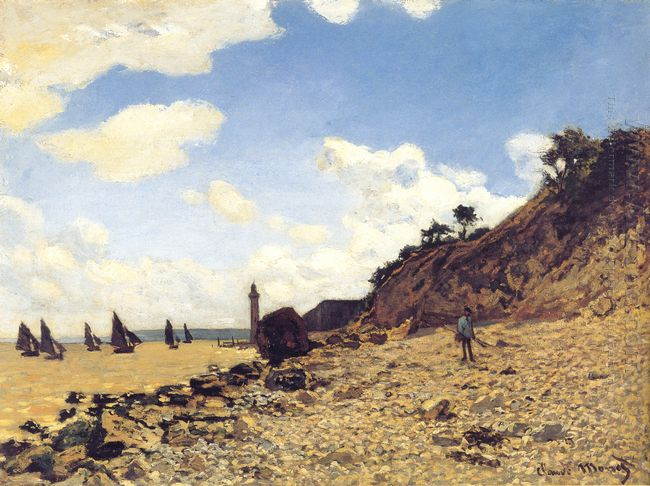 The Beach At Honfleux