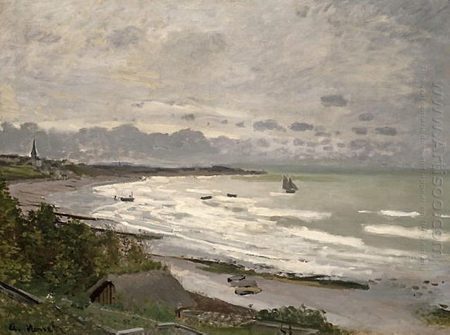 The Beach At Saint Adresse