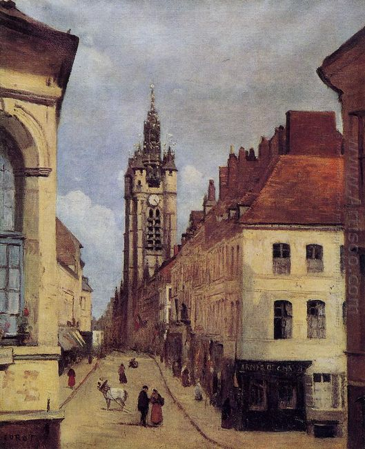 The Belfry Of Douai 1871