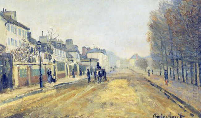 The Boulevard Heloise In Argenteuil